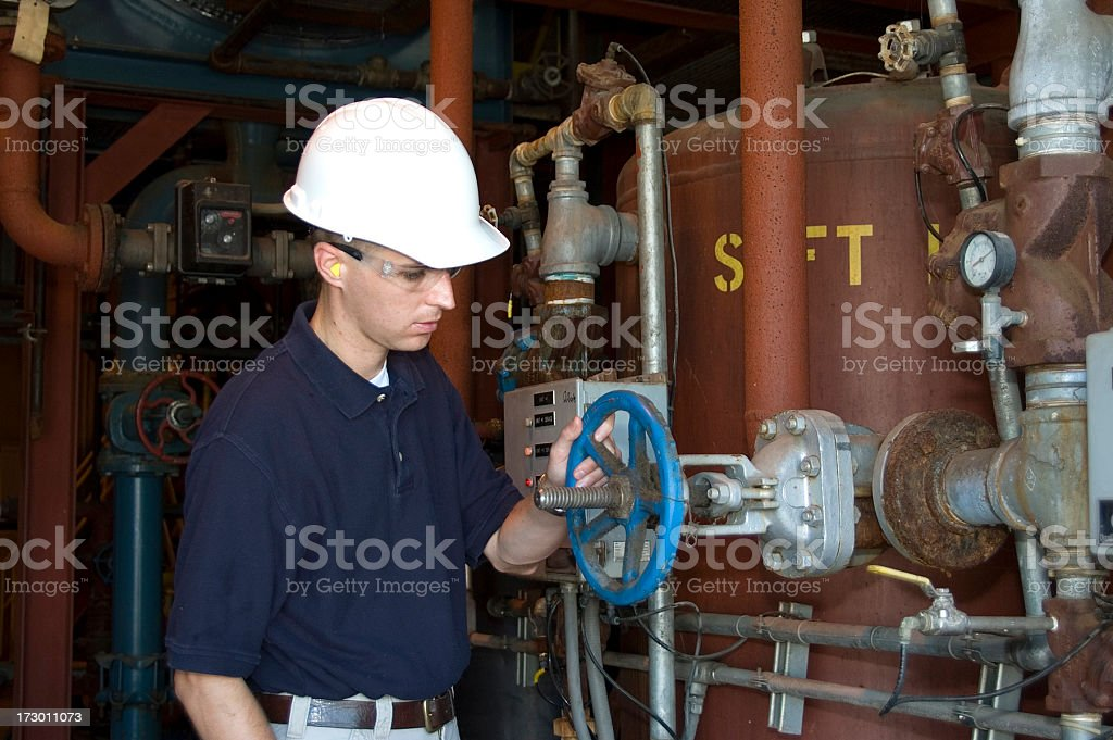 Factory Worker stock photo