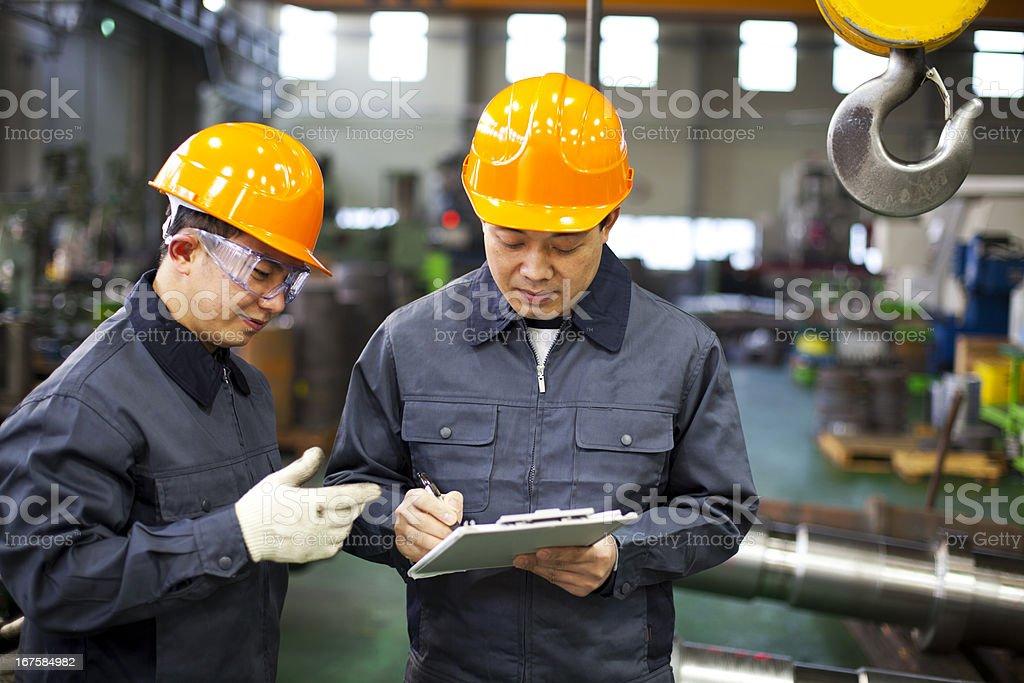 Fabrik Arbeiter Lizenzfreies stock-foto