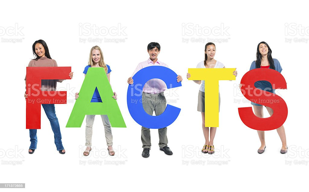 Facts royalty-free stock photo