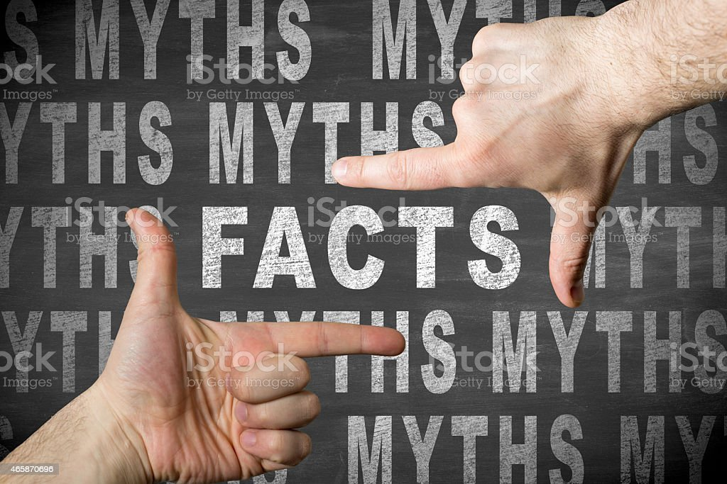 Facts stock photo