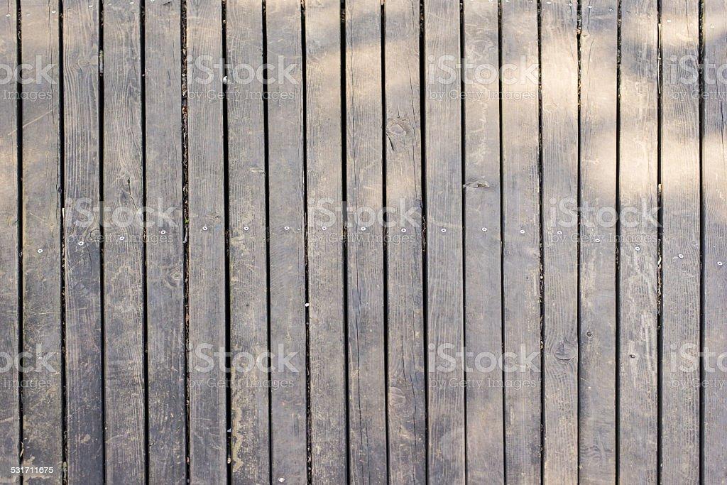 facula on wood floor stock photo
