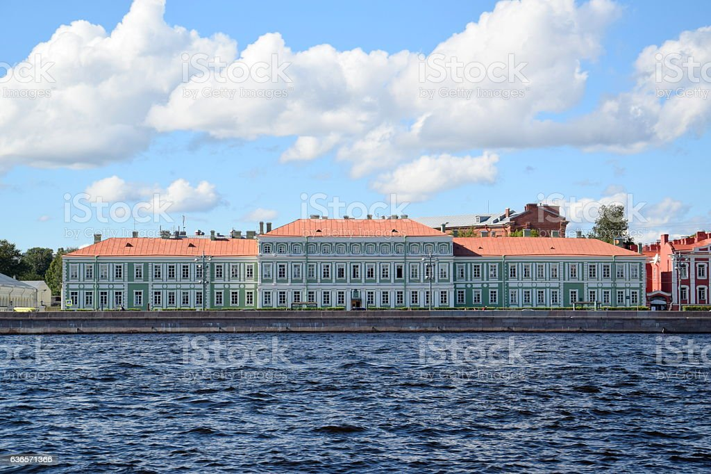 Faculty of Philology, St. Petersburg University, Russia stock photo