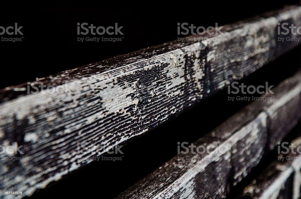 Fade to black stock photo
