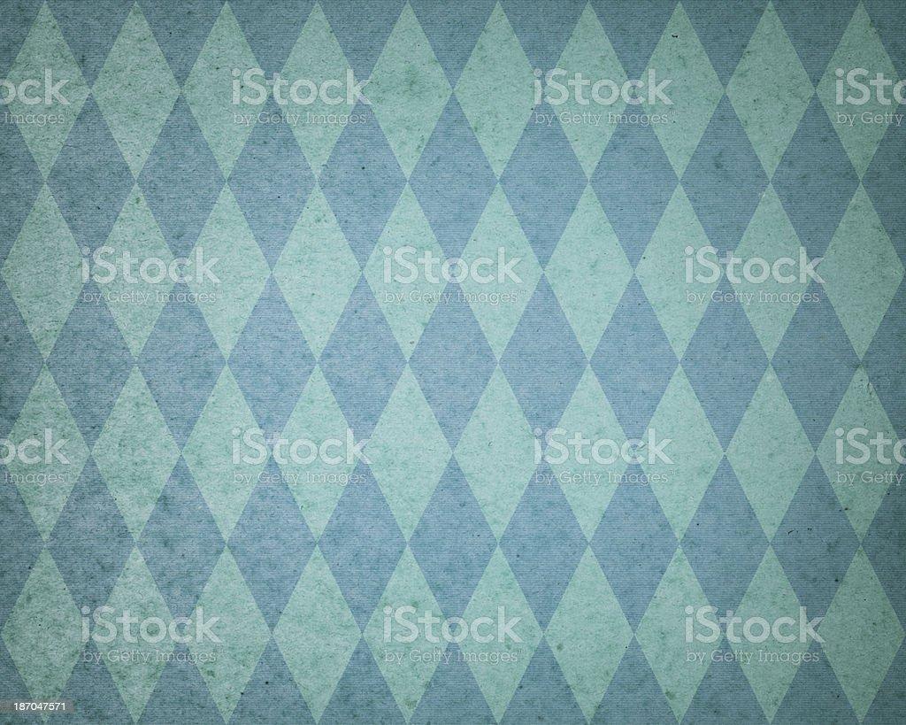 faded diamond pattern paper stock photo