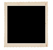 Faded, Dirty Square Photo Frame (XXL)