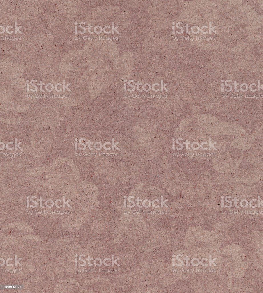 faded pink paper with floral pattern royalty-free stock vector art
