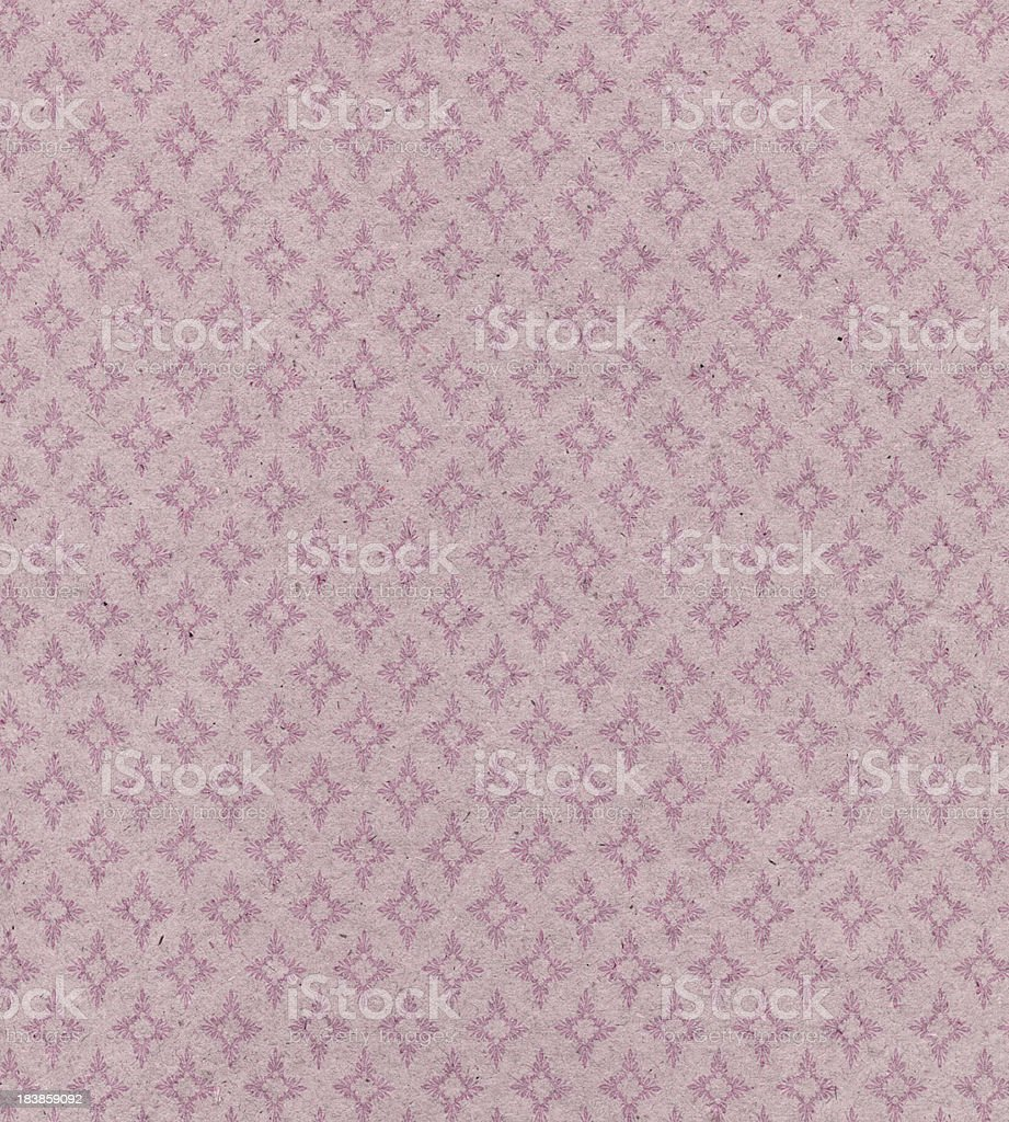 faded pink paper with ornament royalty-free stock photo