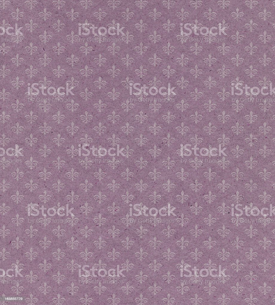 faded pink paper with symbol royalty-free stock photo