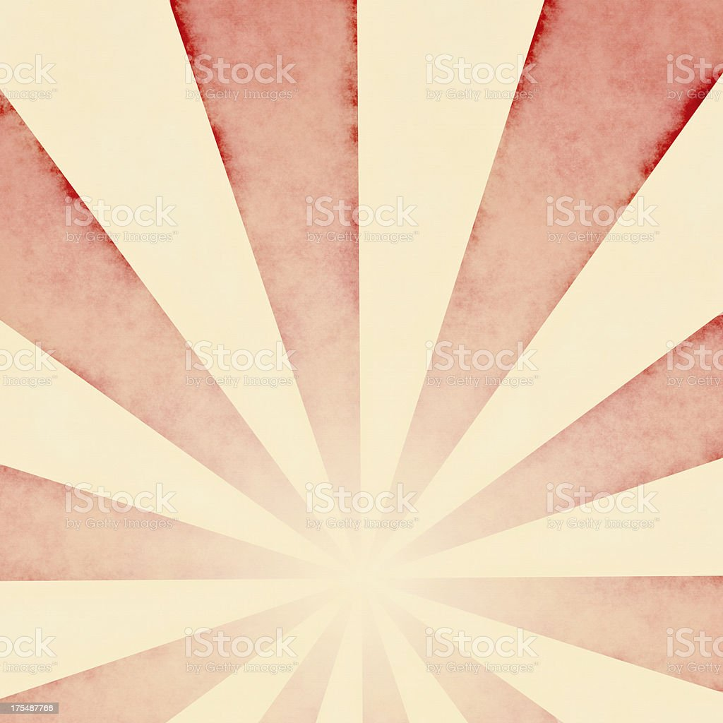 Faded Red Sunbeams Background  | Wallpaper Designs and Fabrics stock photo