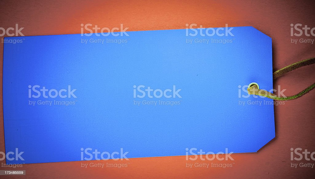 Faded Tag royalty-free stock photo