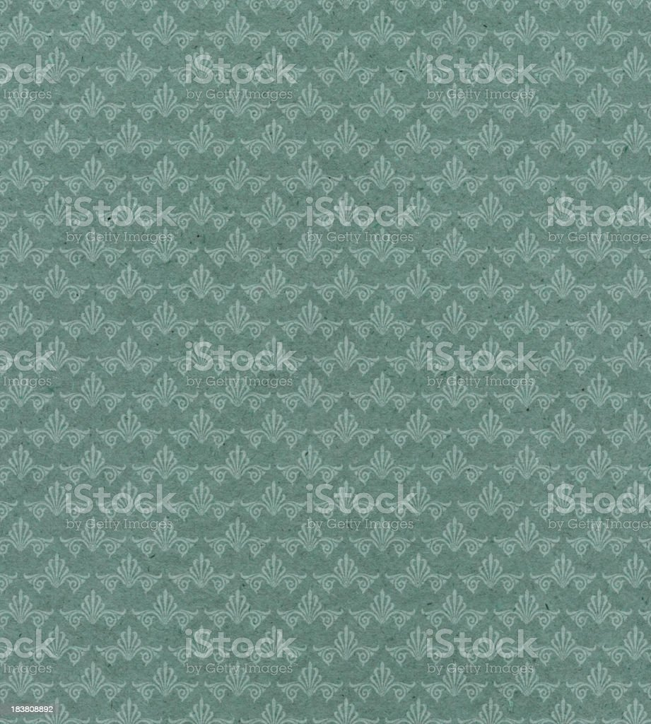 faded wallpaper with pattern stock photo