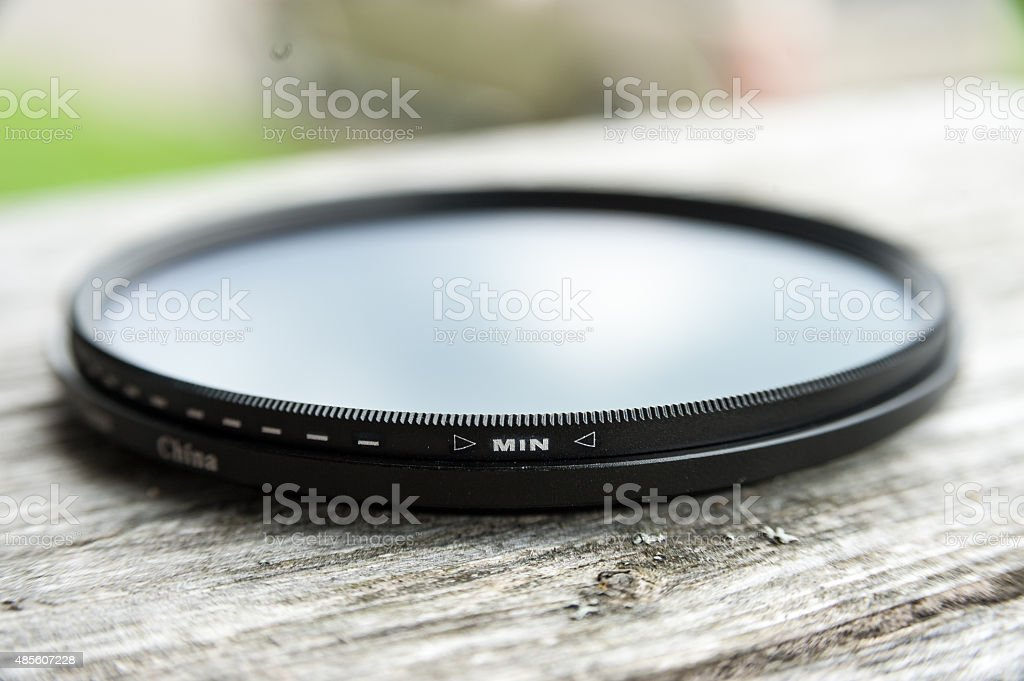 fader lens for camera stock photo