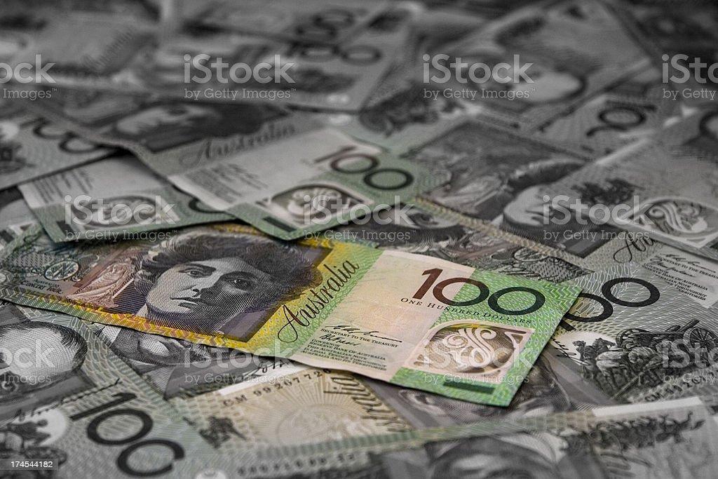 Fading finance royalty-free stock photo