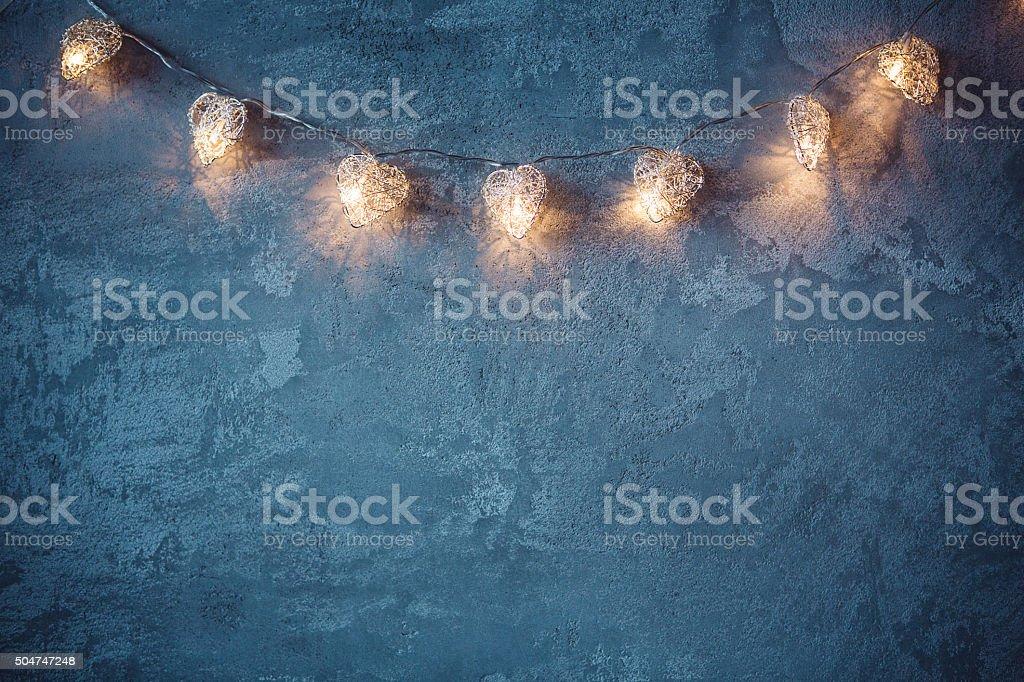 Faerie lights stock photo