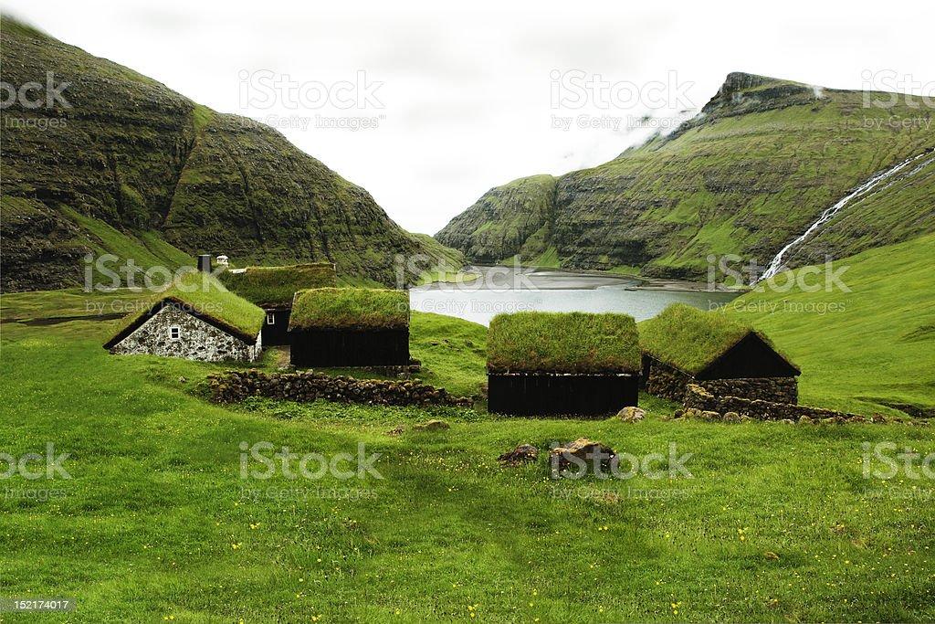 Faeroe Islands. stock photo