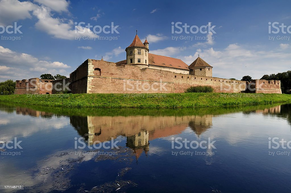 Fagaras Castle; Brasov; Romania stock photo