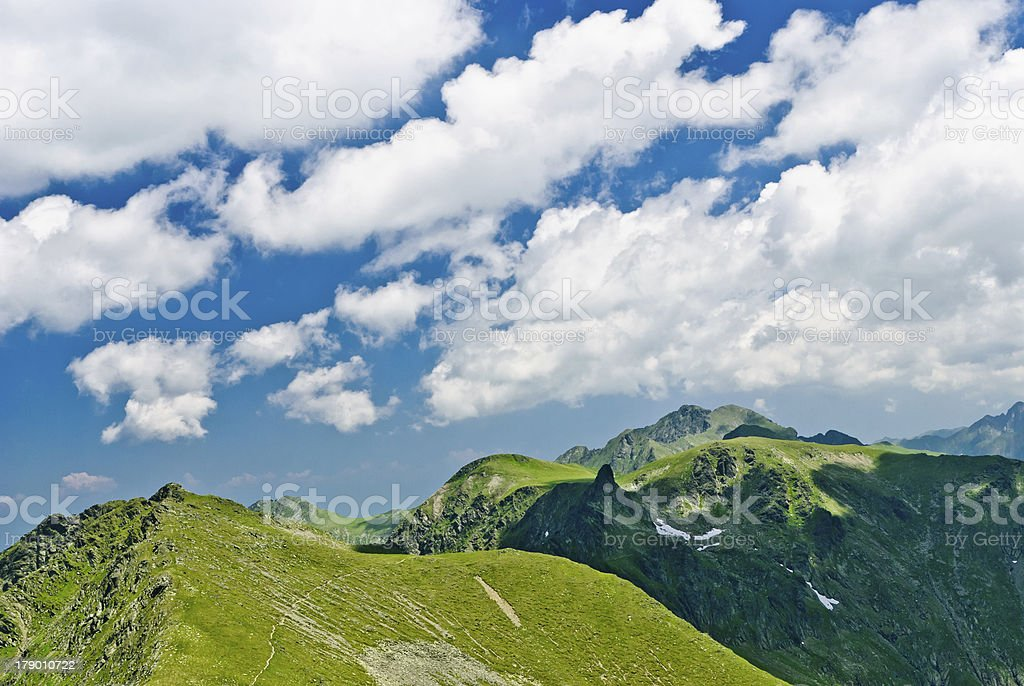 Fagaras mounrains royalty-free stock photo