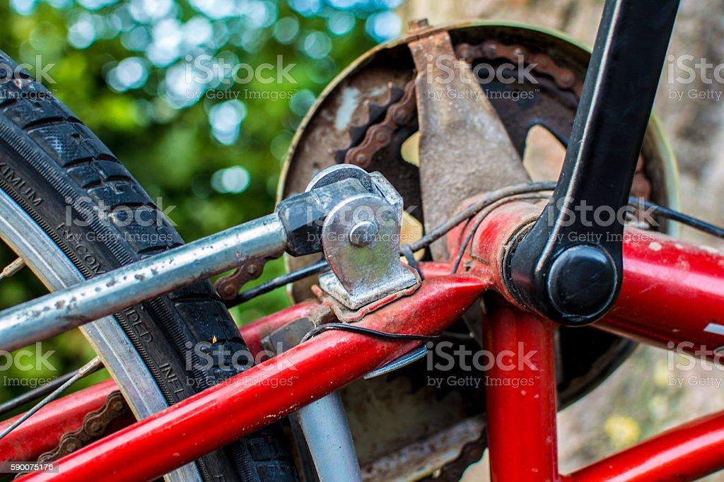 Fahrradkette royalty-free stock photo