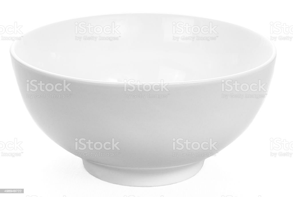 Faience bowl stock photo