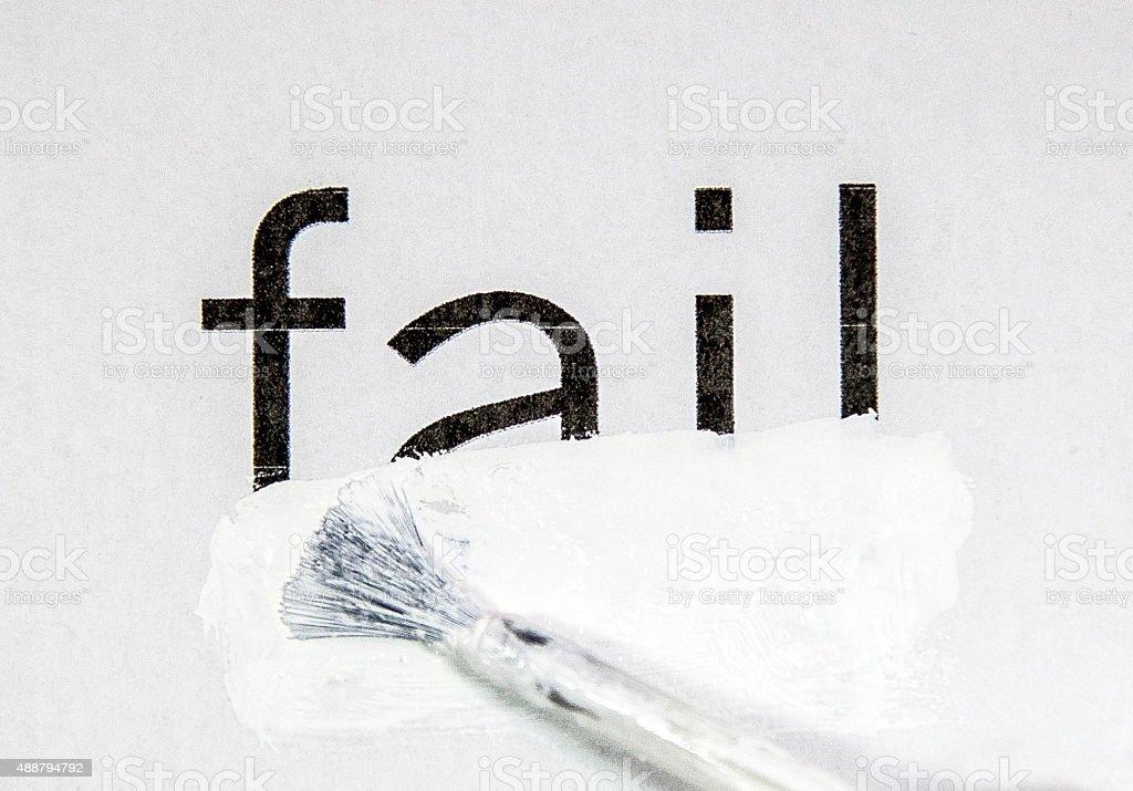 fail stock photo