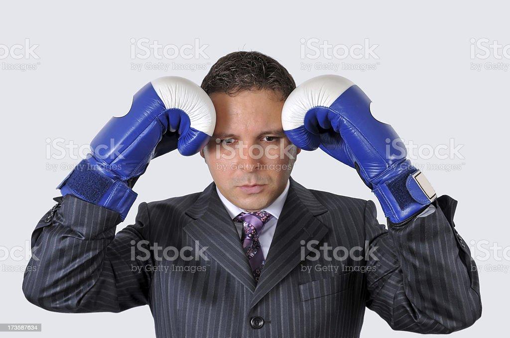 failed businessman royalty-free stock photo