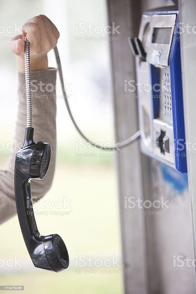 Failed communication royalty-free stock photo
