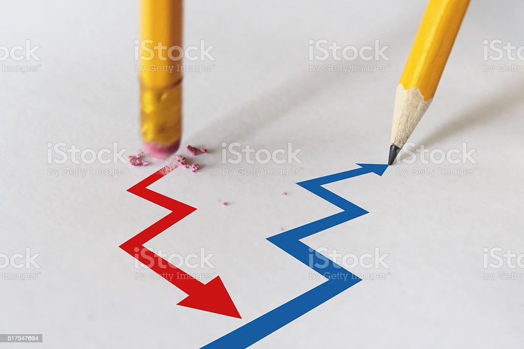 failure to success stock photo