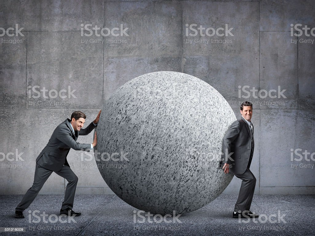 Failure To Work Together stock photo