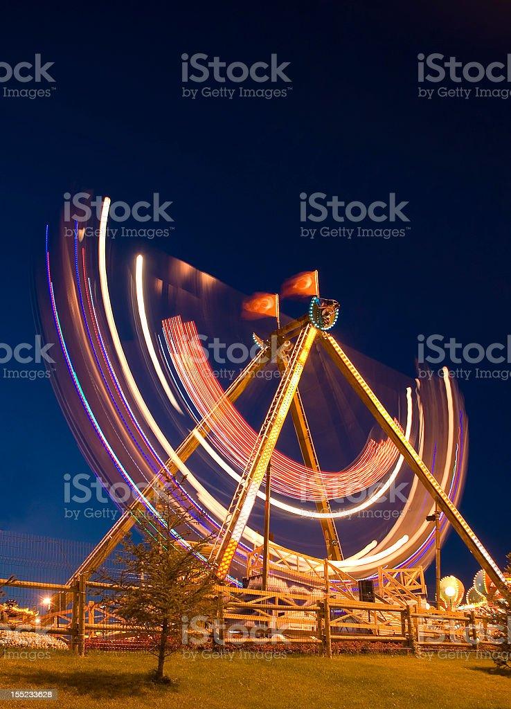 Fair at night royalty-free stock photo