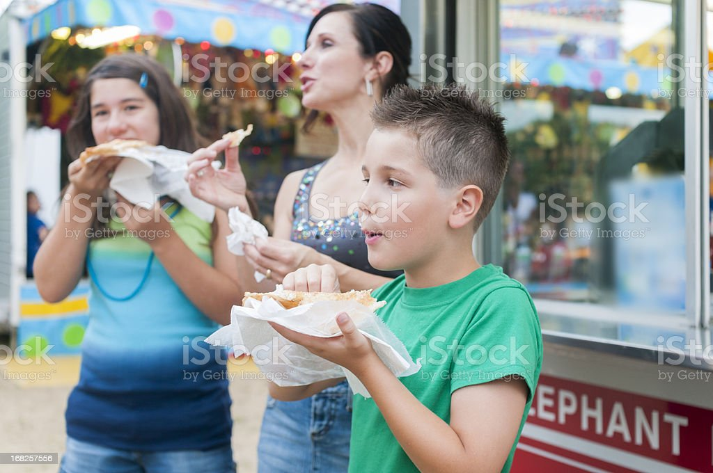 Fair Food stock photo