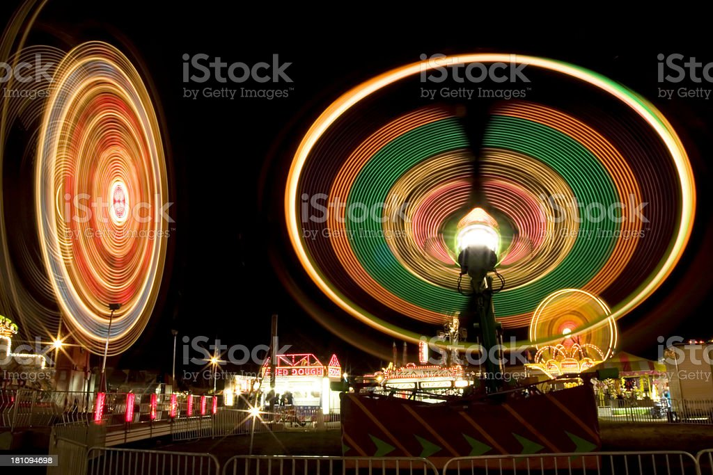 Fair Midway royalty-free stock photo