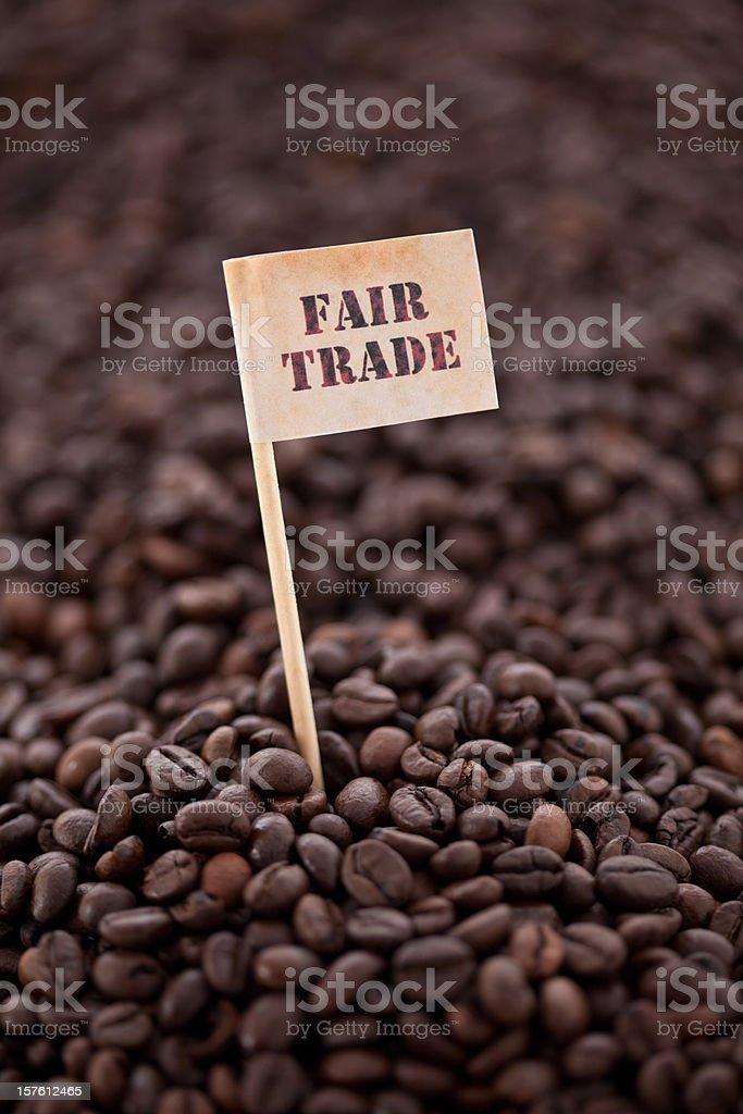 fair trade royalty-free stock photo