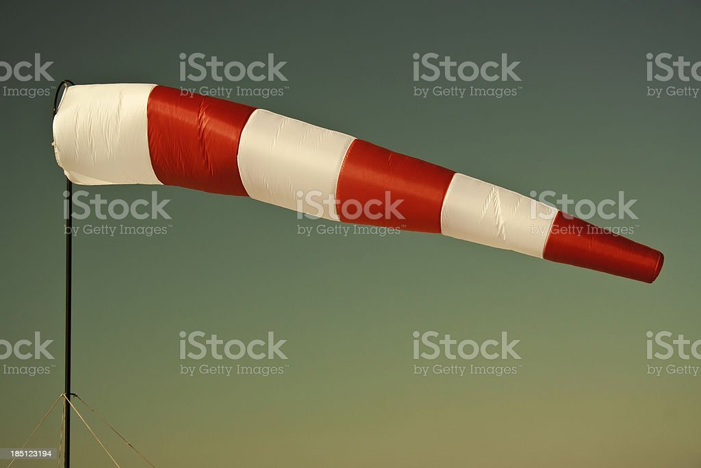 Fair wind. Business concept stock photo