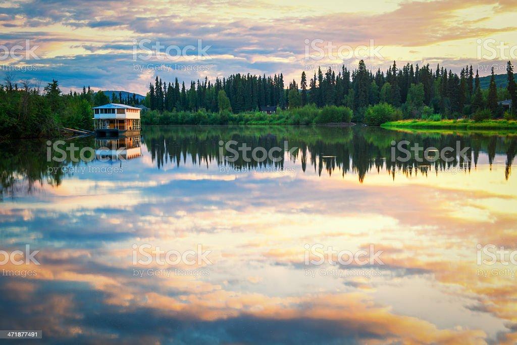 Fairbanks Landscape royalty-free stock photo