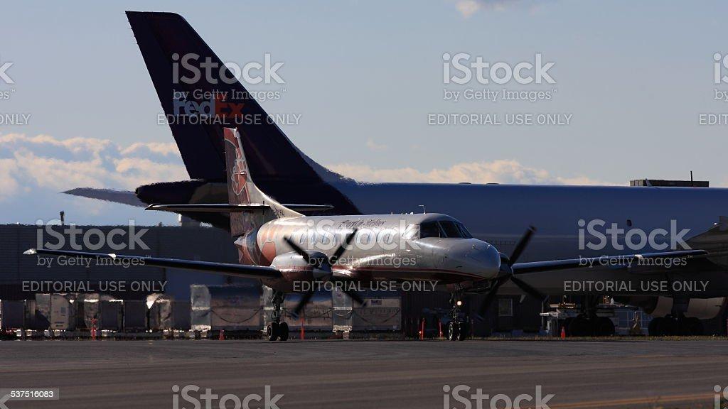 Fairchild Dornier SA.227AC C-GYRL Bearskin Airlines at YOW stock photo