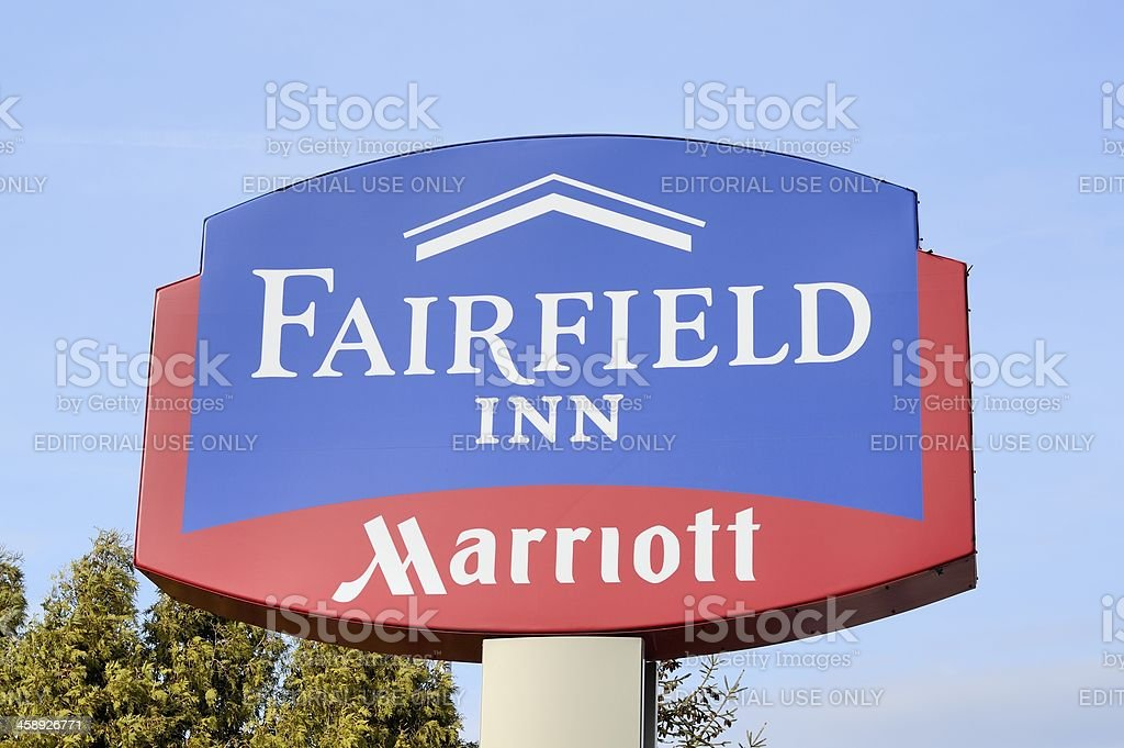 Fairfield Inn by Marriott royalty-free stock photo