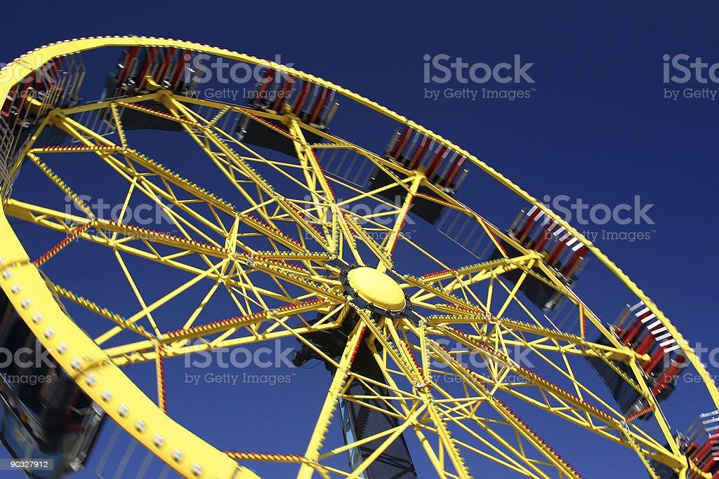 Fairground Ride royalty-free stock photo