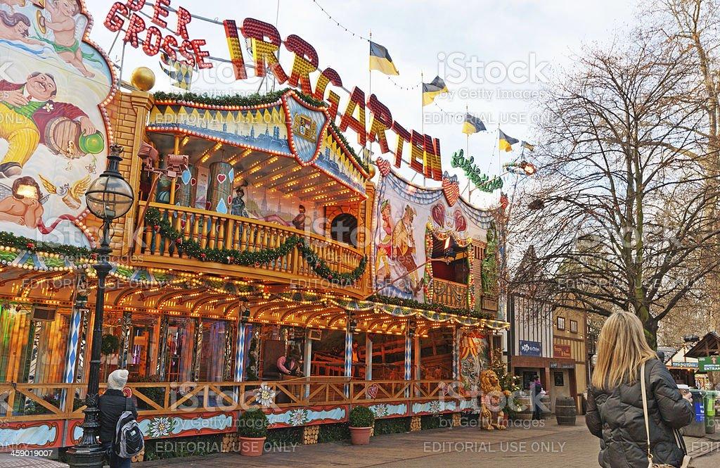 Fairground stall royalty-free stock photo