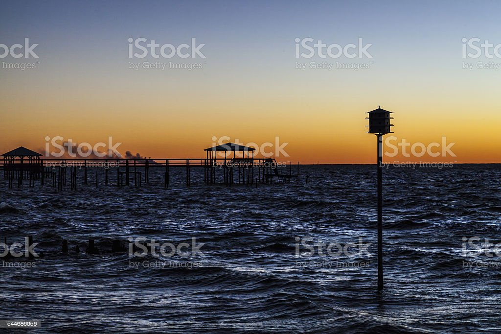 Fairhope Alabama stock photo