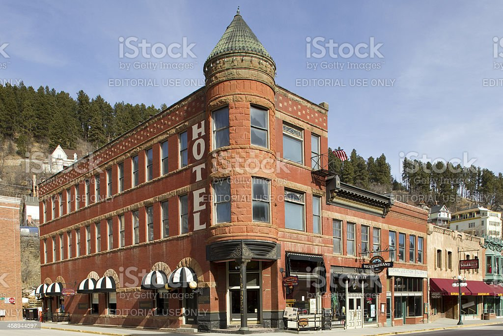 Fairmont Hotel - Deadwood, South Dakota royalty-free stock photo