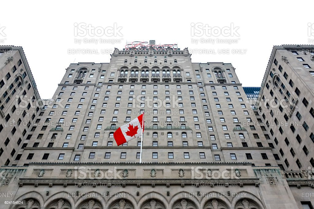 Fairmont Royal York Hotel stock photo