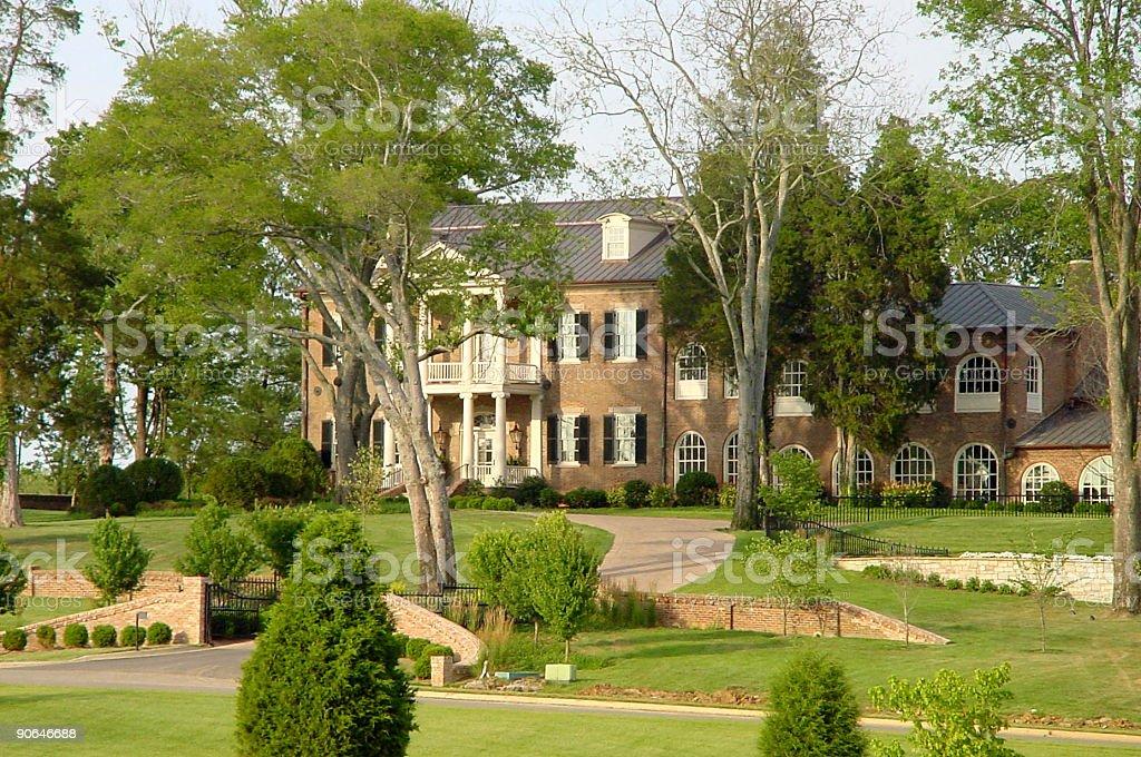 Fairvue Plantation royalty-free stock photo