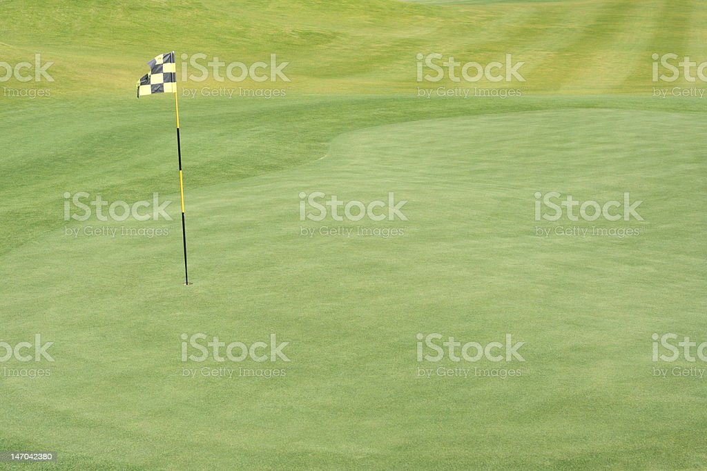 fairway golf course royalty-free stock photo