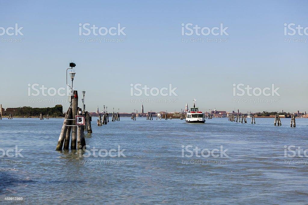 fairway to Venice royalty-free stock photo