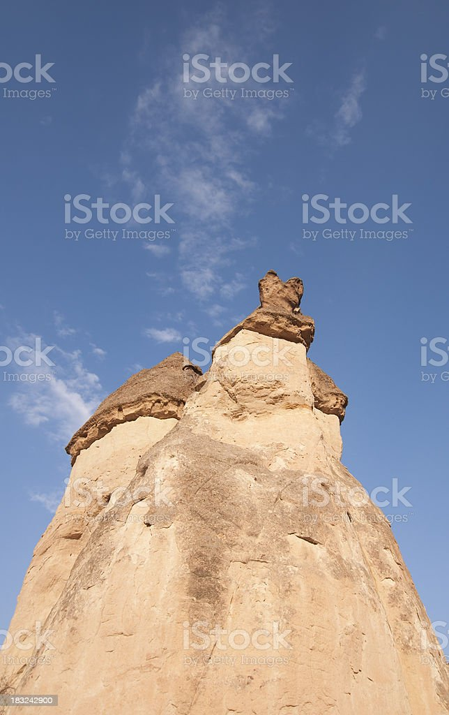 Fairy Chimneys in Cappadocia royalty-free stock photo