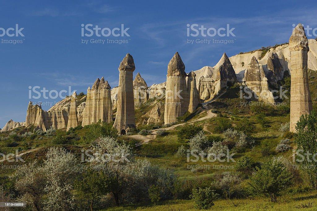 Fairy chimneys royalty-free stock photo
