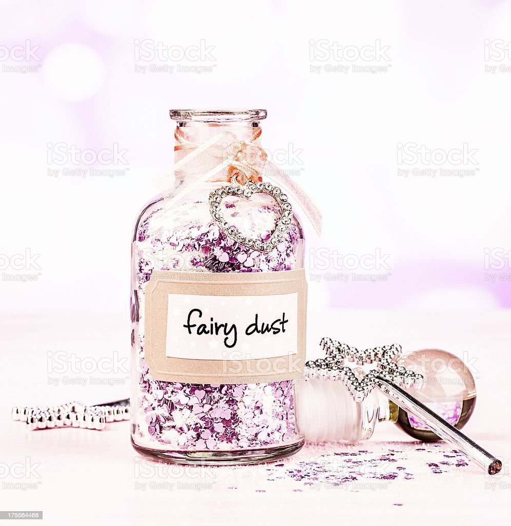 Fairy Dust and Magic Wands royalty-free stock photo
