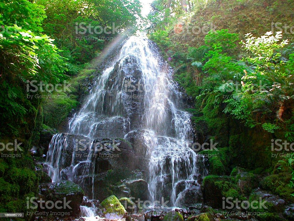 Fairy Falls royalty-free stock photo