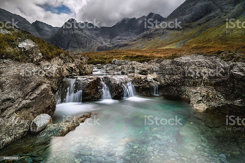 Fairy Pools stock photo