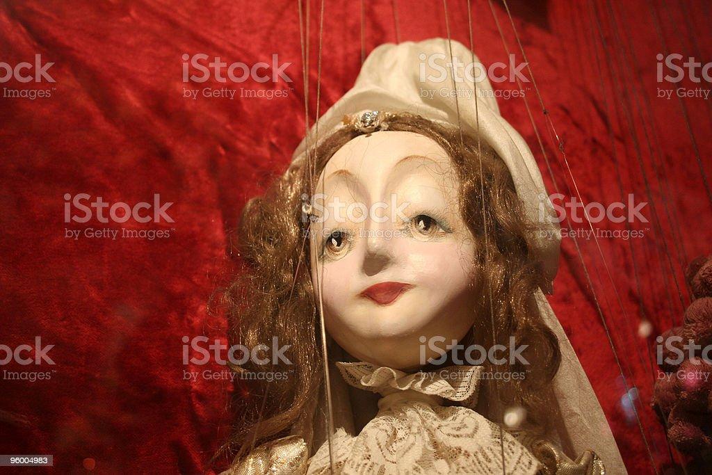 Fairy Princess Puppet royalty-free stock photo